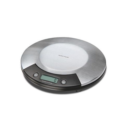 Salter Electronic Kitchen Scale in Stainless with Black Accents