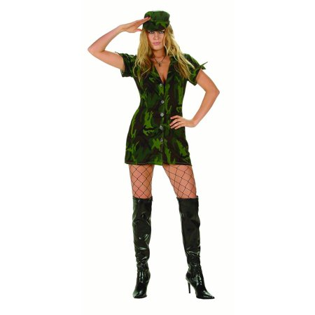 Womens Military Girl Costume (Women's Diy Costume Ideas)