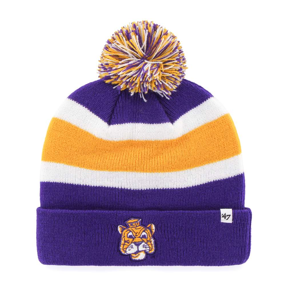LSU Tigers '47 Brand Breakaway Cuff Knit Beanie by 47 Brand