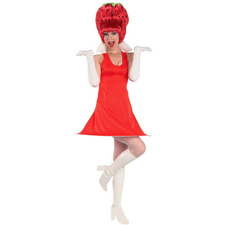 Adult Strawberry Tart Costume Rubies 16516