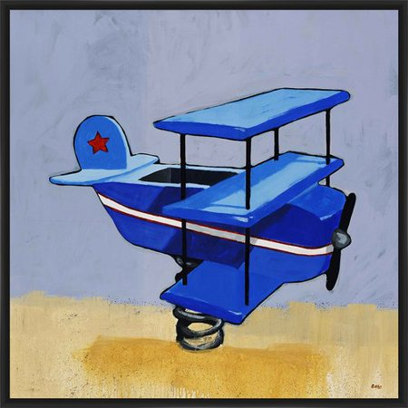 PTM Images 'First Flight' Framed Painting Print