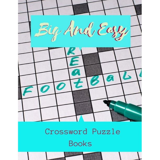 Big And Easy Crossword Puzzle Books Daily Commuter Crossword Puzzle Book Puzzle Books For Adults Large
