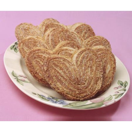 Palmiers French Cookies - Elephant Ears Cookie - Breakfast Pastries