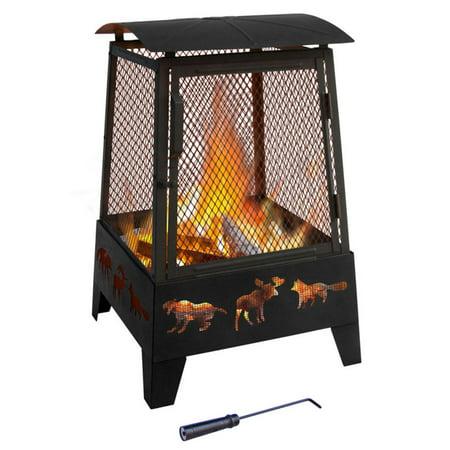 Landmann HAYWOOD Wood Fireplace Only $49.99