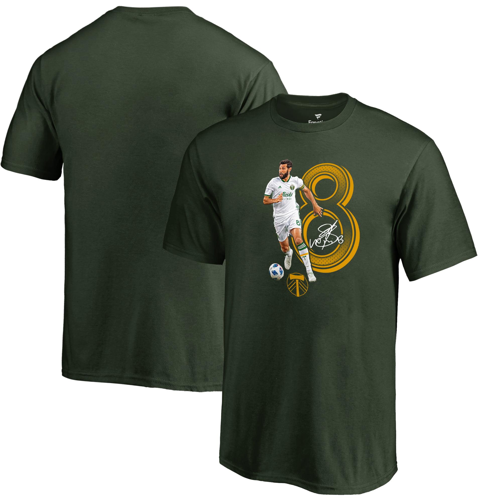 Diego Valeri Portland Timbers Fanatics Branded Youth Powerhouse Player T-Shirt - Green
