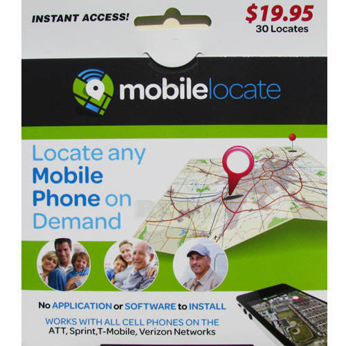 Mobilelocate Cell Phone Tracking Prepaid Card