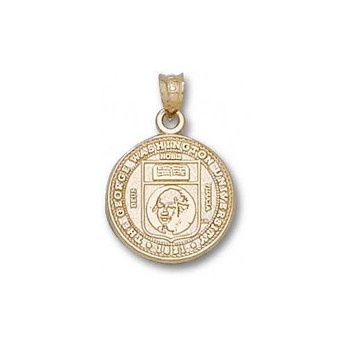 NCAA - George Washington Colonials 10K Gold Seal Pendant