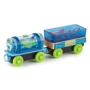 Thomas & Friends Wood Aquarium Cargo Train Cars with Sea Creatures
