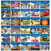 Newmark Learning NL-4566 Early Rising Social Studies Spanish Readers Domain Set