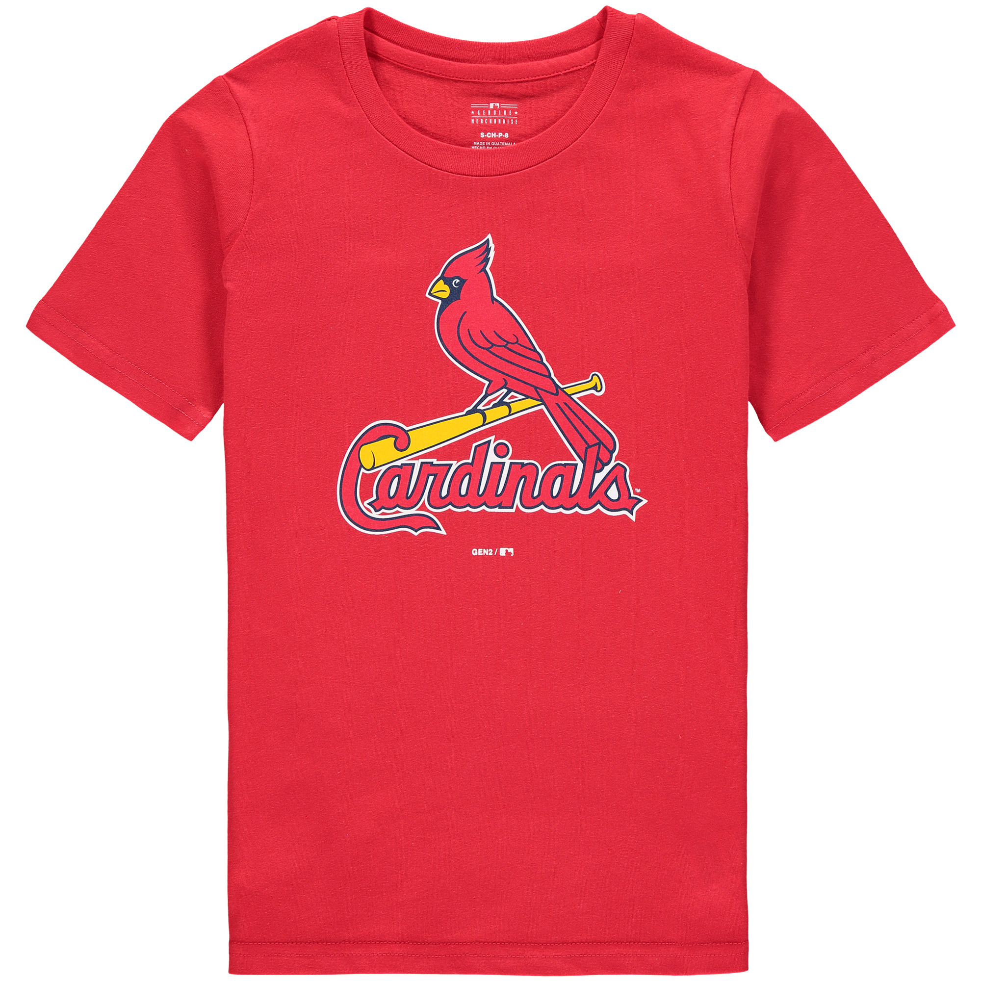 St. Louis Cardinals Youth Primary Logo T-Shirt - Red