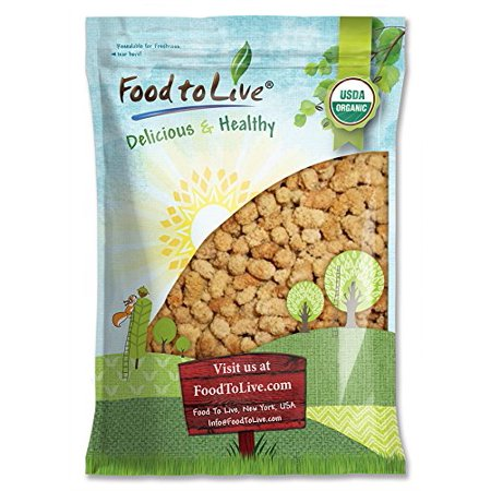 Organic Dried White Mulberries, 5 Pounds - Non-GMO, Unsulfured, Bulk, Raw, Vegan - by Food to Live