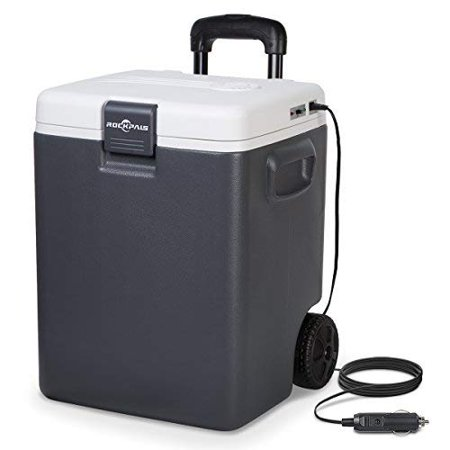Rockpals 30Quart Iceless Electric Cooler Car Refrigerator & Warmer Chiller for Truck, RV, Home, Office, Travel,
