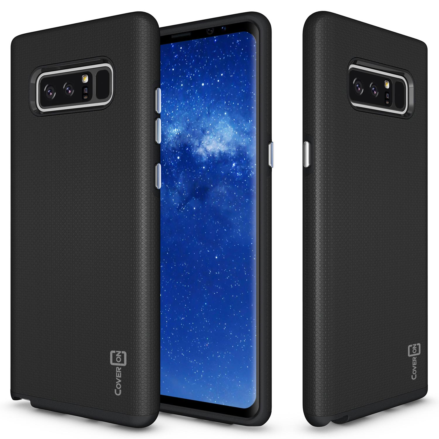 CoverON Samsung Galaxy Note 8 Case, Rugged Series Protective Hybrid Phone Cover