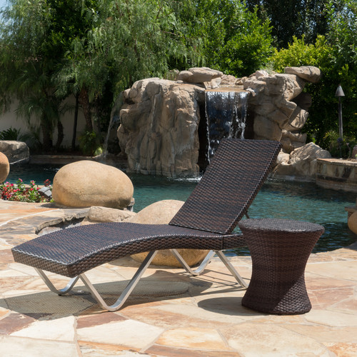 Latitude Run Liliana 2 Piece Chaise Lounge Set