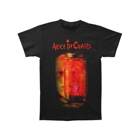 Alice In Chains Men's  Jar Of Flies Tee T-shirt Black (Alice In Chains Halloween Shirt)