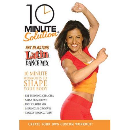 10 Minute Solution: Fat Blasting Latin Dance Mix (DVD)