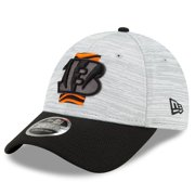 Cincinnati Bengals New Era Youth 2021 NFL Training Camp Official 9FORTY Adjustable Hat - Gray/Black - OSFA