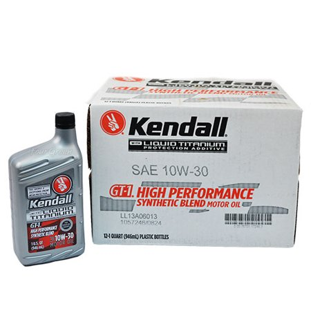 Kendall motor oil 5w30 gt 1 full synthetic liquid titanium for Quaker state advanced durability motor oil review