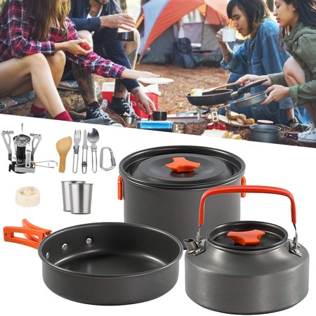 Portable Backpacking Gas Butane Propane Canister Outdoor Camping Stove Burner Set