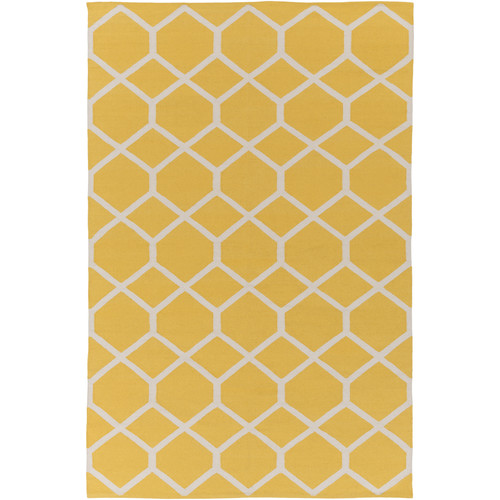 Artistic Weavers Vogue Elizabeth Yellow/Ivory Area Rug