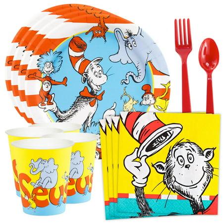 Dr. Seuss Standard Tableware Kit (Serves 8)](Dr Seuss Door Decorations)