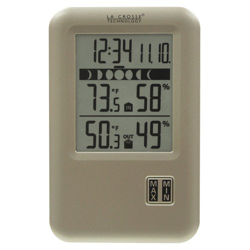 La Crosse Technology Wireless Weather Station with Moon Phase by La Crosse Technology