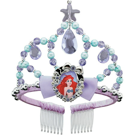 Disney Ariel Mermaid Costume (Disney The Little Mermaid Ariel Classic Tiara Child Halloween Costume)