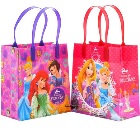 Disney Princess Paradise 12 Reusable Party Favors Small Goodie Gift Bags 6