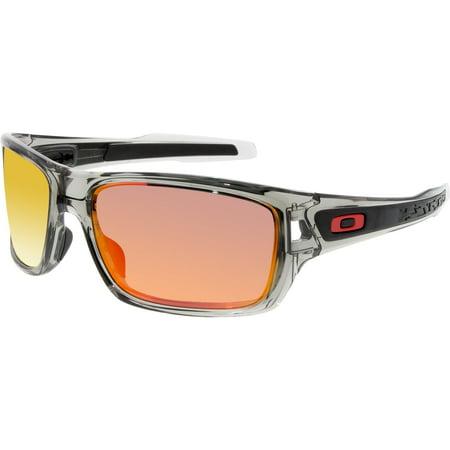 62926a1ba58  124.68 (walmart). Oakley Men s Polarized Turbine OO9263-10 Grey Wrap  Sunglasses