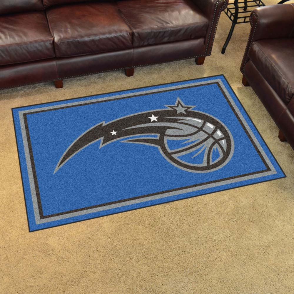 Orlando Magic 4 Foot x 6 Foot Rug