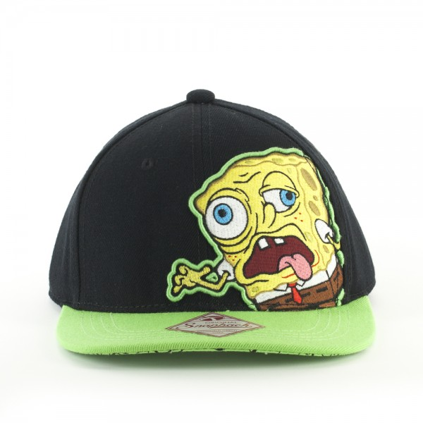 Baseball Cap - SpongeBob SquarePants - New Zombie Black ba3388spo