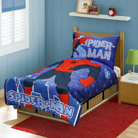 Spider Man You Are 4 Piece Toddler Bedding Set