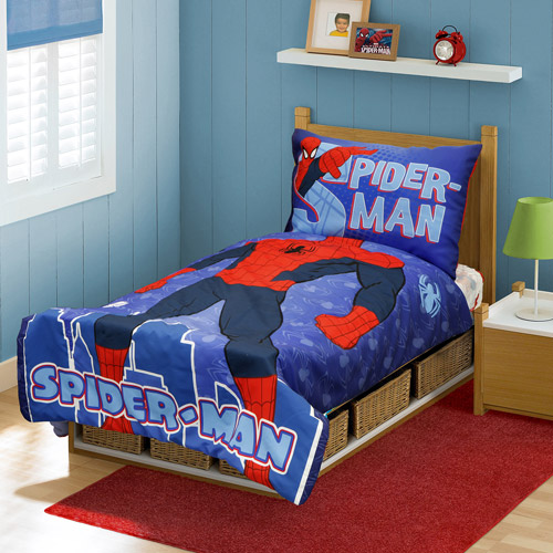 Spider Man You Are Spider Man 4 Piece Toddler Bedding Set