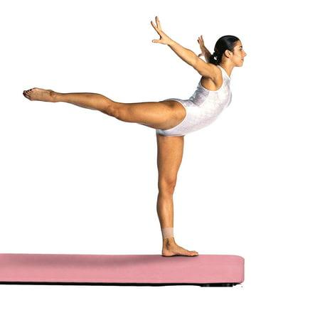 6c3d2cba0a4d Ainfox Pink 8 Feet Gymnastics Balance Beam for Skill Training Folding -  Walmart.com