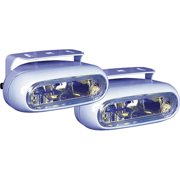 Anderson 55W ION Halogen Low Profile Docking Light Kit (Includes 2 Lights, Wiring and Rocker Switch)