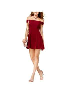1aa215637 Product Image Teeze Me - Off-The-Shoulder Party Dress - Juniors - 11