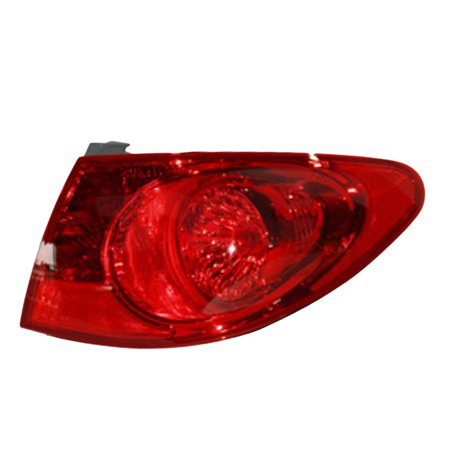 - NEW PASSENGER SIDE TAIL LIGHT FITS HYUNDAI ELANTRA SEDAN 2009 2010 HY2805108 92402-2H050 924022H050