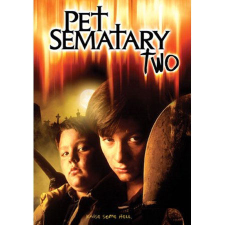 Pet Sematary Two (DVD) - Hollywood Cemetery Halloween Movie