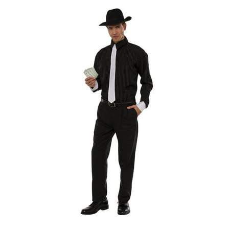 Halloween Gangster Adult Costume - Gangster Halloween Costumes Uk