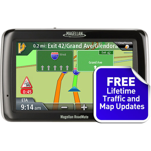 MAGELLAN RM2045SGLUC RoadMate(R) 2045TLM 4.3 Inch. GPS Device with Free Lifetime Map & Traffic Updates