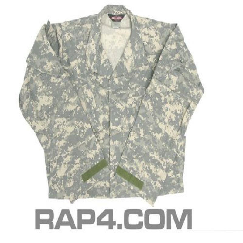 Army Combat Uniform BDU Jacket (ACU) Small - paintball apparel