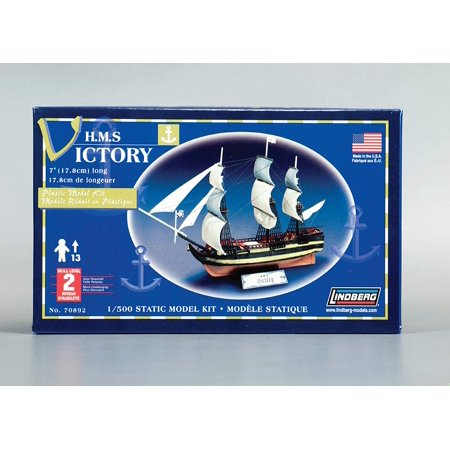 R1 Models - HMS Victory 1/500 Scale Plastic Model Kit - 38 Pieces - Skill Level 2