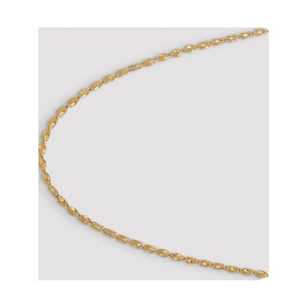 14k Yellow Gold 3.5mm Marquise Chain - image 2 of 5