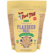 Bob's Red Mill, Organic Whole Ground Flaxseed Meal, 32 oz (pack of 2)