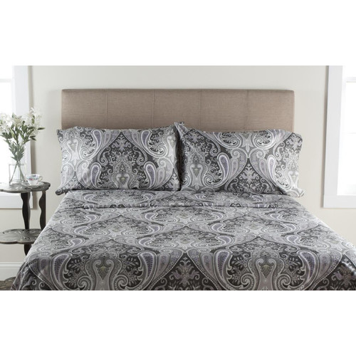 T300 Crystal Palace Print Duvet Set by Generic