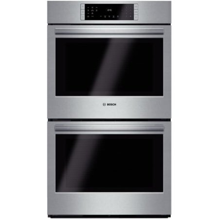 Bosch HBL86 30 Inch 9.2 Cu. Ft. Double Wall Oven with European Convection from t