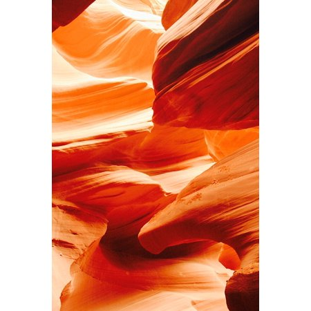 Framed Art for Your Wall USA Gorge Sand Stone Canyon Antelope Canyon 10x13 Frame (Antelope Framed)