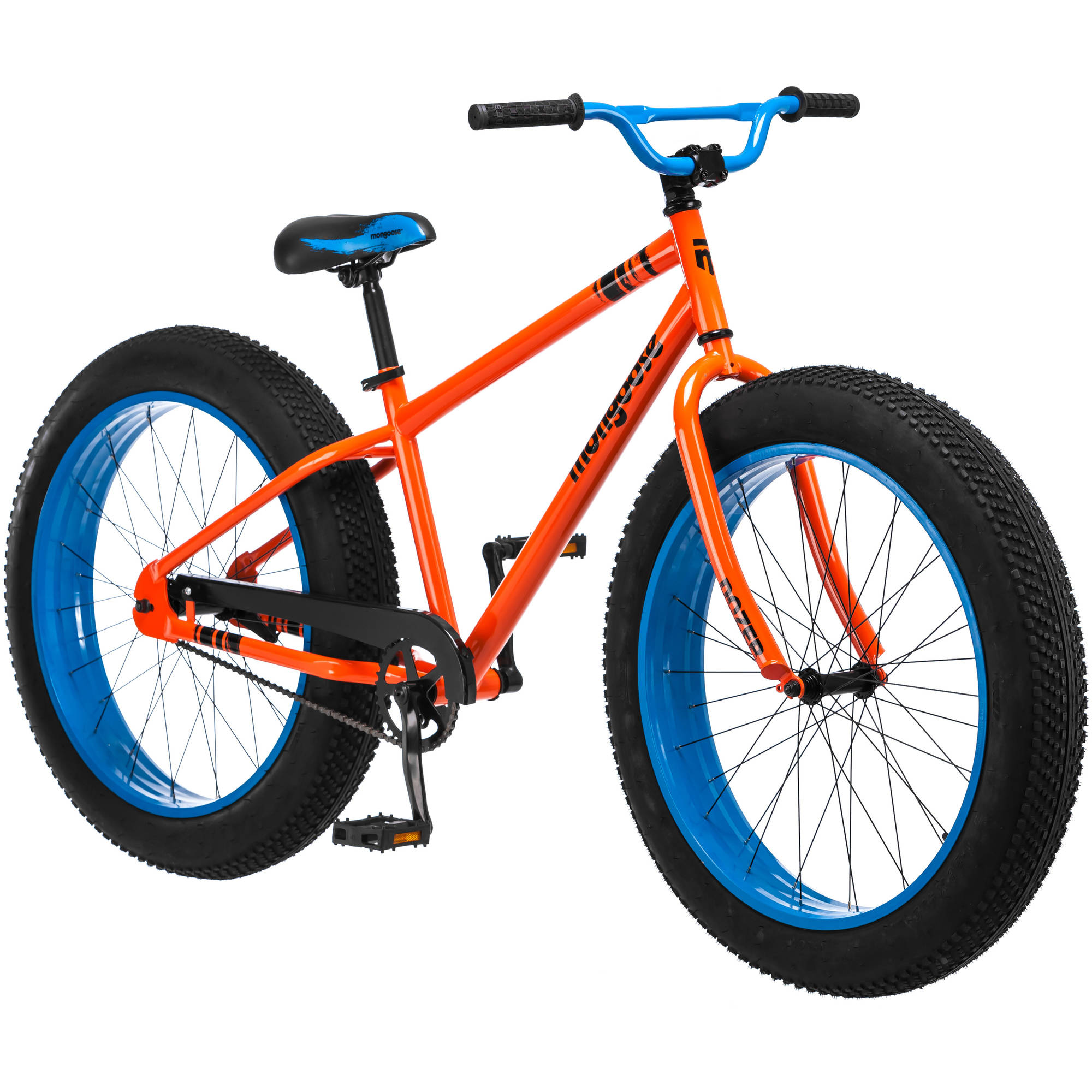 "26"" Men's Mongoose Dozer Fat Tire Bike, Orange"