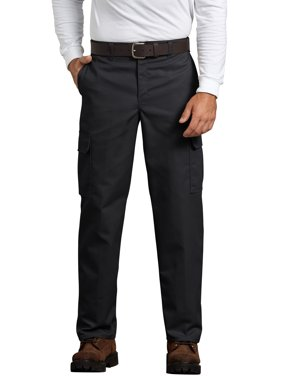 Genuine Dickies Men's Relaxed Fit Flat Front Cargo Pant