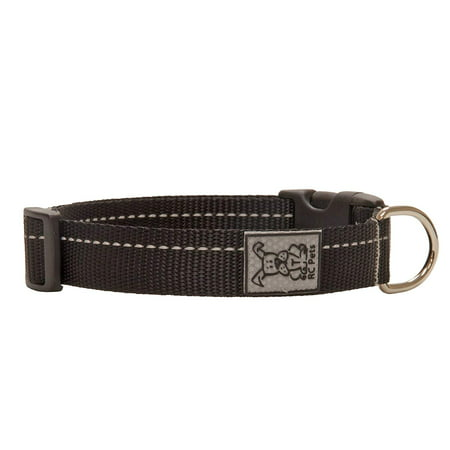Adjustable Dog Clip Collar - 3/4 Inch Primary Collection Adjustable Dog Collar, Small, Burgundy, The fully adjustable clip collar is made from soft quality webbing with a nickel plated D ring. By RC Pet Products